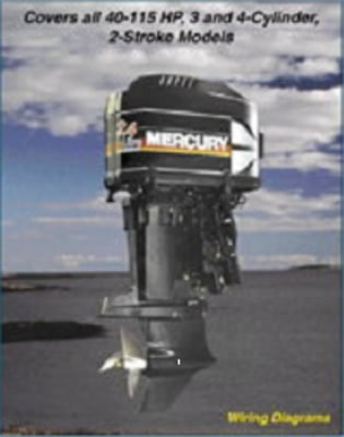 Product picture Mercury Repair Manual 1965 - 1989 40 115HP 2 Stroke