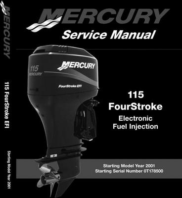 Product picture Mercury/Mariner 115HP EFI (4 Stroke) Service Manual