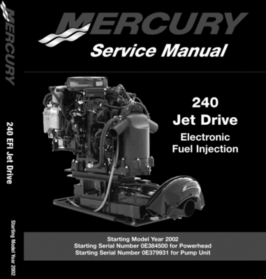 Product picture Mercury/Mariner 240Hp EFI Jet Drive